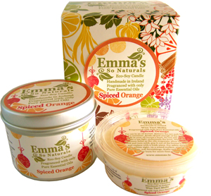Emma's So Naturals Spiced Orange Trio