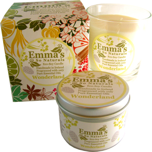 Emma's So Naturals Wonderland Glass Tumbler, Box & Tin