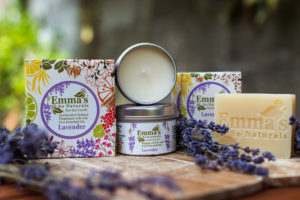 Emma's So Naturals Lavender Soy Candle & Soap Collection
