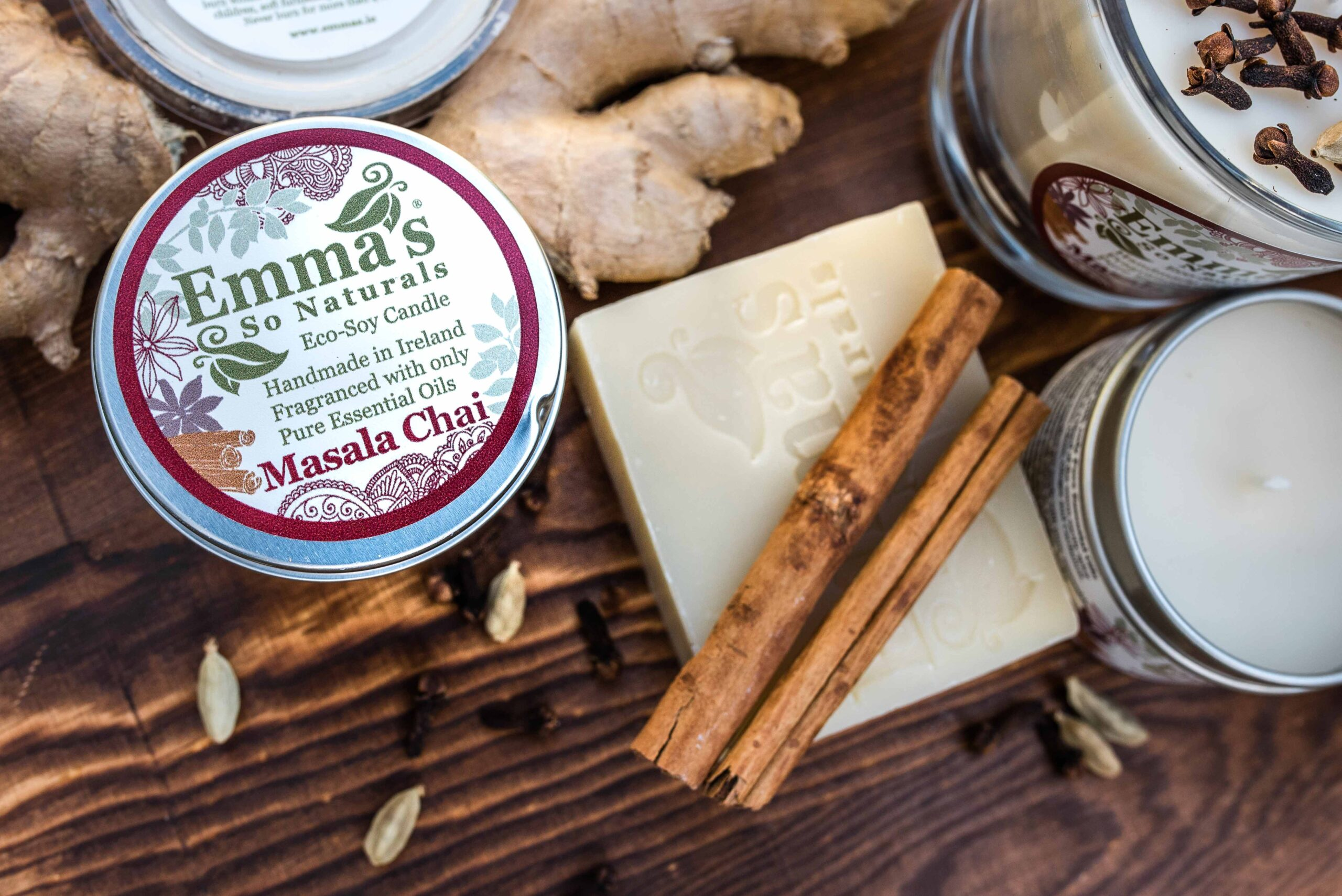 Emmas Ao Naturals Masala Chai Collection