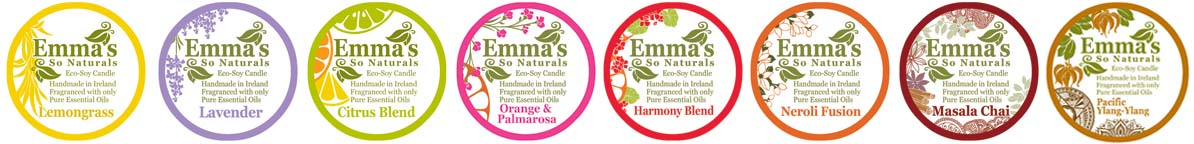 Emma's So Naturals Pure Essential Oil Fragrances