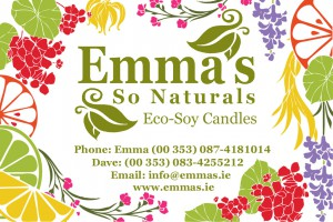 Emma's So Naturals Business Card