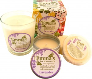 Emma's So Naturals Lavender Candles Trio Open