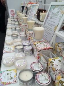 Emma's Candles Craft Fair Table