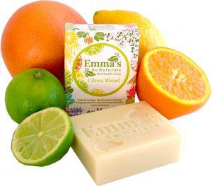 Emma's Citrus Fruits Soap & Box