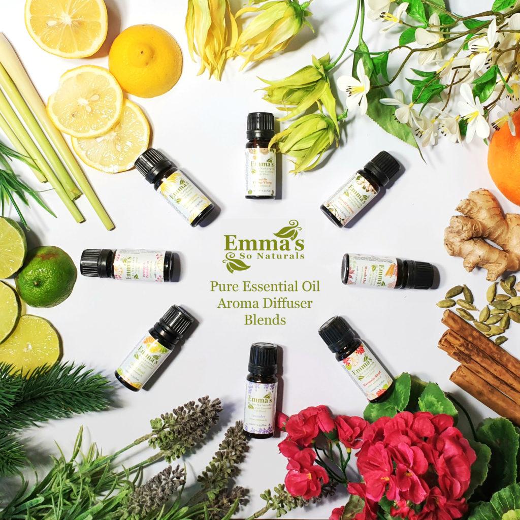 Emma's Aroma Diffuser Oil Collection