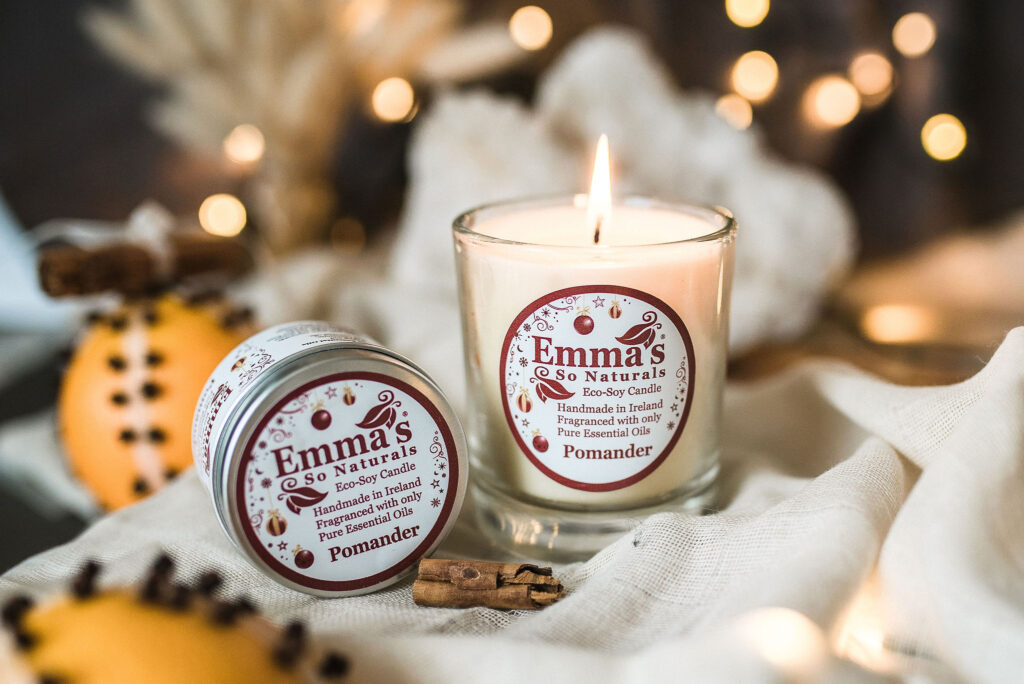 Pomander - a new seasonal scent collection from emma's so naturals