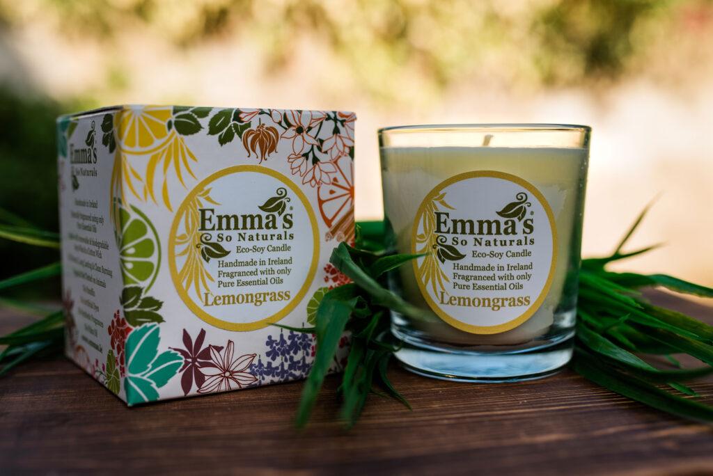 Emma's So Naturals Lemongrass Tumbler & Box